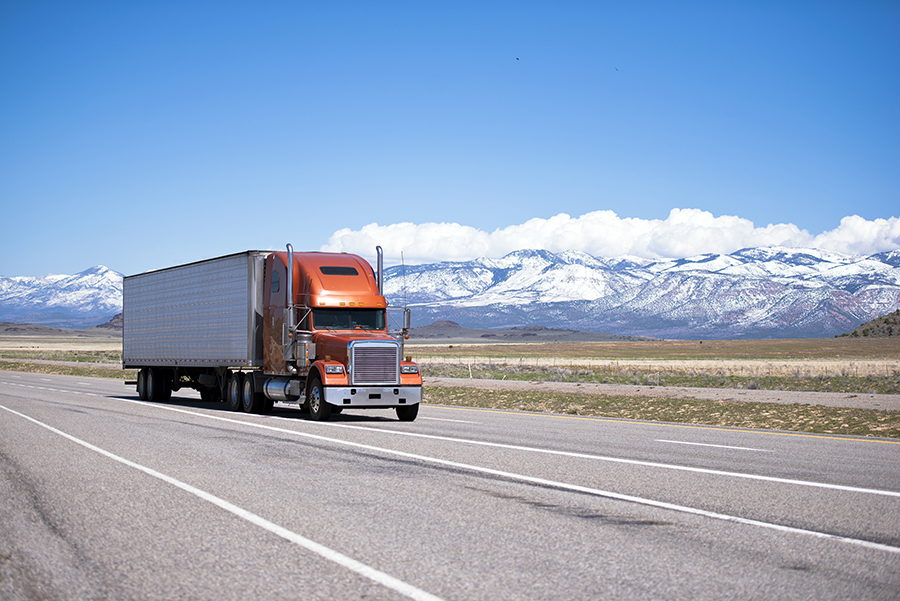 Commercial Trucking Throughout Utah